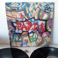 Discos de vinilo: DOBLE LP. RAP'IN MADRID. VARIOS. ARIOLA. ESPAÑA. 5G 303763.. Lote 190504202