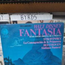 Discos de vinilo: WALT DISNEY FANTASÍA BANDA SONORA ORIGINAL DE LA PELÍCULA. Lote 190504247