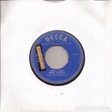 Discos de vinilo: SINGLE MARK WYNTER ANGEL TALK/I LOVE HER STILL DECCA 11467 UK 1962 DJ COPY PROMO. Lote 190506606