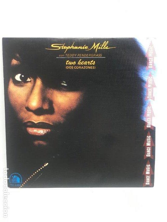 STEPHANIE MILLS CON TEDDY PENDERGRASS // TWO HEARTS // SINGLE // RCA S.A. // 1981 (Música - Discos - Singles Vinilo - Disco y Dance)