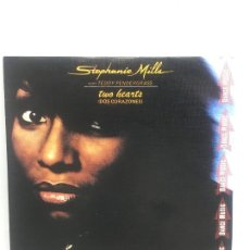 Discos de vinilo: STEPHANIE MILLS CON TEDDY PENDERGRASS // TWO HEARTS // SINGLE // RCA S.A. // 1981. Lote 190519973