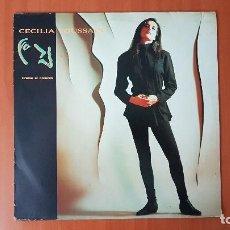 Discos de vinilo: CECILIA TOUSSAINT - TÍRAME AL CORAZÓN- ROCK . LP EDITADO EN MÉXICO AÑO 1.990. NO HAY EN VENTA. Lote 190520250