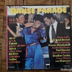 Discos de vinilo: DANSE PARADE BOX 4 LPS P.MAURIAT P.SELLIN LOS MATECOCO BRASILIAN COMBO FRANCE MUSIDISC CCV 2529. Lote 190520938