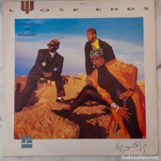 Discos de vinilo: LOOSE ENDS. NIGHTS OF PLEASURE. MAXI SINGLE UK 3 TEMAS. Lote 190523687