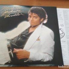 Discos de vinilo: MICHAEL JACKSON THRILLER LP GATEFOLD INSERTO. Lote 190525015