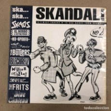 Discos de vinilo: - L.P. - SKA...SKA...SKANDAL! N° 2. 10 FINEST TRACKS - 10 SKA BANDS FROM GERMANY. (1990).. Lote 190527020