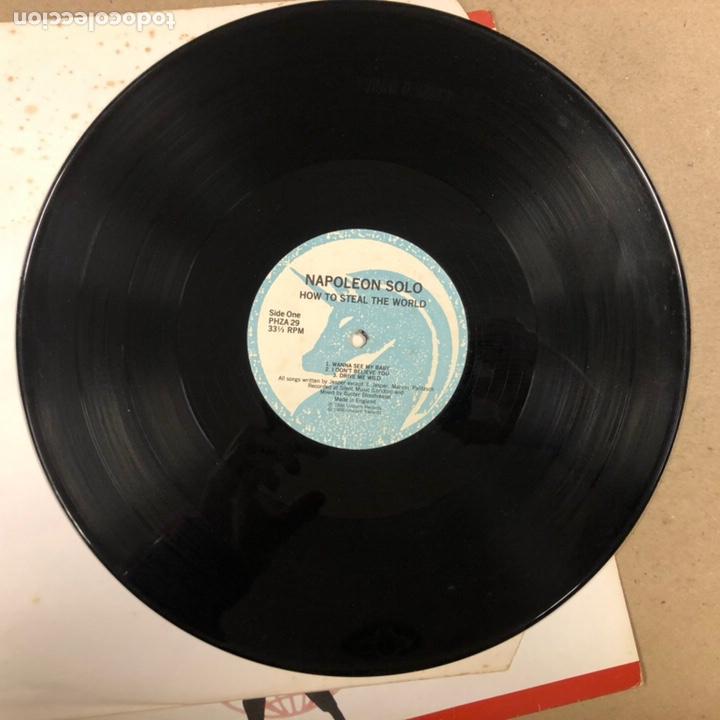 """Discos de vinilo: - VINILO 12"""" - NAPOLEON SOLO """"HOW TO STEAL THE WORLD"""" (UNICORN RECORDS 1988). - Foto 2 - 190527480"""