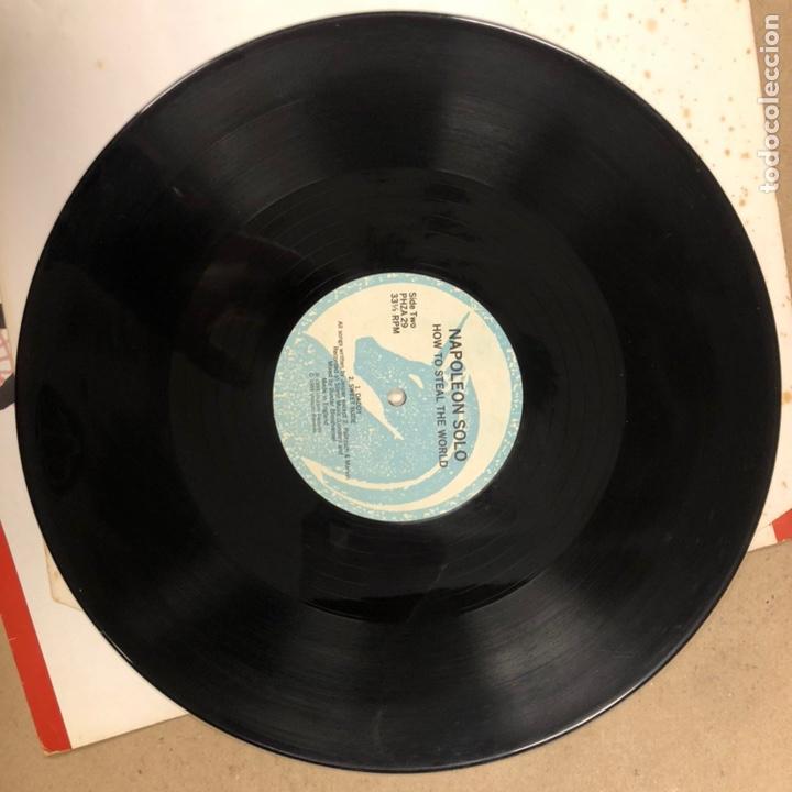"""Discos de vinilo: - VINILO 12"""" - NAPOLEON SOLO """"HOW TO STEAL THE WORLD"""" (UNICORN RECORDS 1988). - Foto 3 - 190527480"""