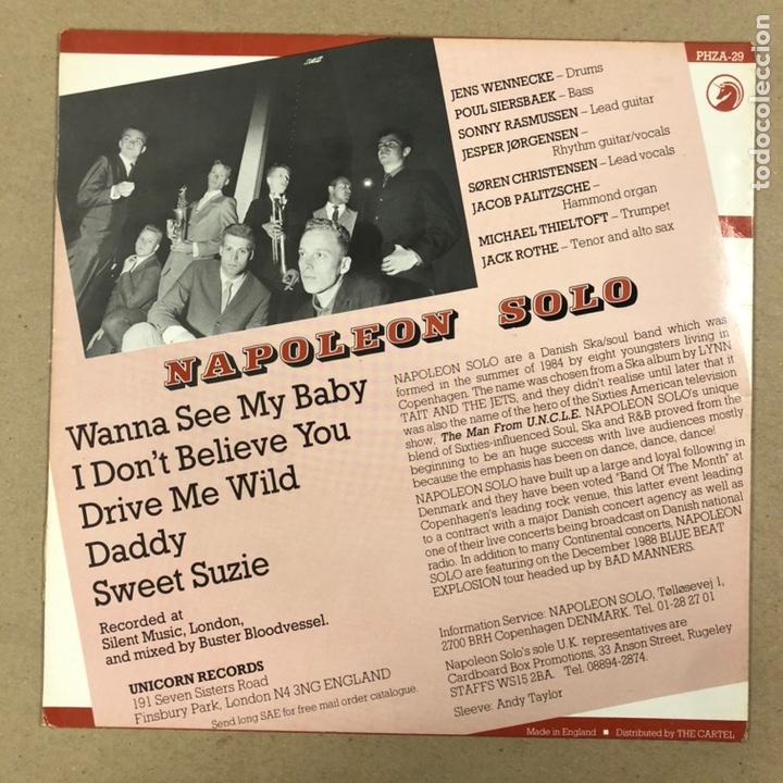 """Discos de vinilo: - VINILO 12"""" - NAPOLEON SOLO """"HOW TO STEAL THE WORLD"""" (UNICORN RECORDS 1988). - Foto 4 - 190527480"""