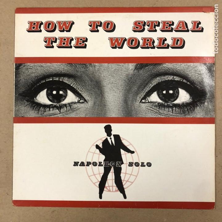 """- VINILO 12"""" - NAPOLEON SOLO """"HOW TO STEAL THE WORLD"""" (UNICORN RECORDS 1988). (Música - Discos de Vinilo - Maxi Singles - Reggae - Ska)"""