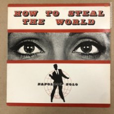 "Discos de vinilo: - VINILO 12"" - NAPOLEON SOLO ""HOW TO STEAL THE WORLD"" (UNICORN RECORDS 1988).. Lote 190527480"