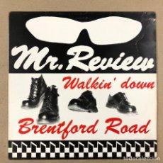 """Discos de vinilo: - L.P. - MR. REVIEW """"WALKIN' DOWN BRENTFORD ROAD"""" (UNICORN RECORDS 1989).. Lote 190528115"""