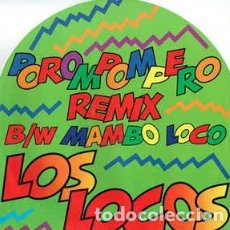 Discos de vinilo: LOS LOCOS – POROMPOMPERO - MAXI-SINGLE ITALY 1993. Lote 190540621