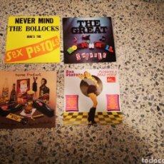 Discos de vinilo: LOTE SEX PISTOLS LPS. Lote 190542358