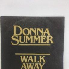 Discos de vinilo: DONNA SUMMER // WALK AWAY (ALEJATE) // SINGLE // 60 00 524 // CASABLANCA RECORS 1979 . Lote 190544813