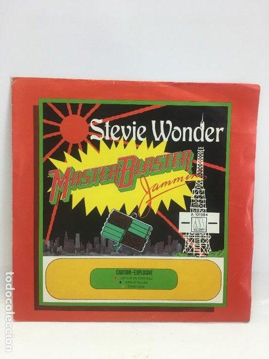 STEVIE WONDER // MASTER BLASTER (JASMMIN´) // SINGLE // A- 101984 // MOTOWN RECORDS // 1980 (Música - Discos de Vinilo - Singles - Pop - Rock Extranjero de los 80)