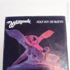 Discos de vinilo: WHITESNAKE HERE I GO AGAIN / BLOODY LUXURY ( 1982 LIBERTY ESPAÑA ). Lote 190563750