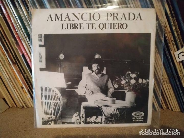 desmayarse Drástico Retorcido  amancio prada: libre te quiero / romance del pr - Buy Vinyl Singles Spanish  Soloists from the 70s to the present at todocoleccion - 190567486
