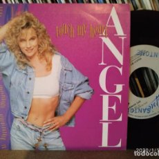 Discos de vinilo: ANGEL - TOUCH MY HEART - PROMO SINGLE 45 RPM - SINGLE SIDED / 1 SOLA CARA. Lote 190567803