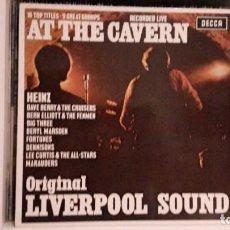 Discos de vinilo: LIVERPOOL SOUND - AT THE CAVERN. Lote 190570258