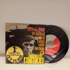 Discos de vinilo: RAIMON SINGLE. Lote 190571177