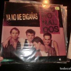 Discos de vinilo: LOS RONALDOS,( YA NO ME ENGAÑAS),MAXI. Lote 190576917