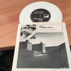 Discos de vinilo: THROBBING GRISTLE ( ZYKLON B ZOMBIE) SINGLE ELECTRONICA WHITE VINYL (EPI03). Lote 190600925