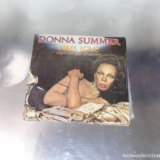 Discos de vinilo: DONNA SUMMER-- I FEEL LOVE & CAN´T WE JUST SIT DOWN ---- ( VINILO NM OR M- FUNDA VG++ ). Lote 190609197