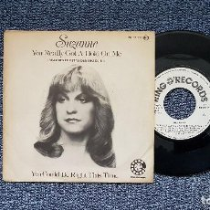 Discos de vinilo: SUZANNE - YOU REALLY GOT A HOLD ON ME / YOU COULD BE RIGHT THIS TIME. EDITADO PORPOLYDOR. AÑO 1.978. Lote 190610693