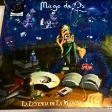 Discos de vinilo: MUSICA LP: MAGO DE OZ- LA LEYENDA DE LA MANCHA.. 2 VINILOS+CD. EDICION 2019. PRECINTADO (P). Lote 190624217