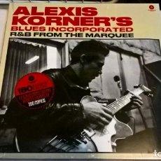 Discos de vinilo: MUSICA LP: ALEXIS KORNER´S - BLUES INCORPORATED. ED. LIMITADA A 500 COPIAS. EDICION WEXTIME 2019 (L). Lote 190625060