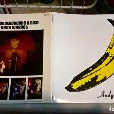Discos de vinilo: MUSICA LP: THE VELVET UNDERGROUND & NICO. ED. LILITH RECORDS 2008 (H). Lote 190628311