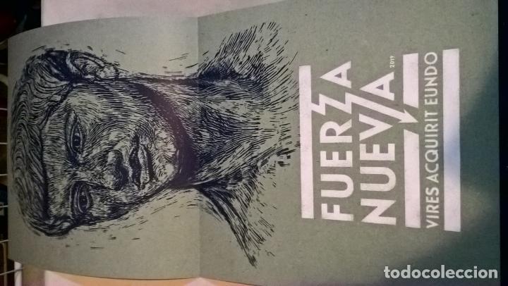 Discos de vinilo: MUSICA LP: FUERZA NUEVA. NIÑO DE ELCHE+LOS PLANETAS. EDICION LIMITADA Y NUMERADA CON EL 259 DE 1492 - Foto 3 - 190637696