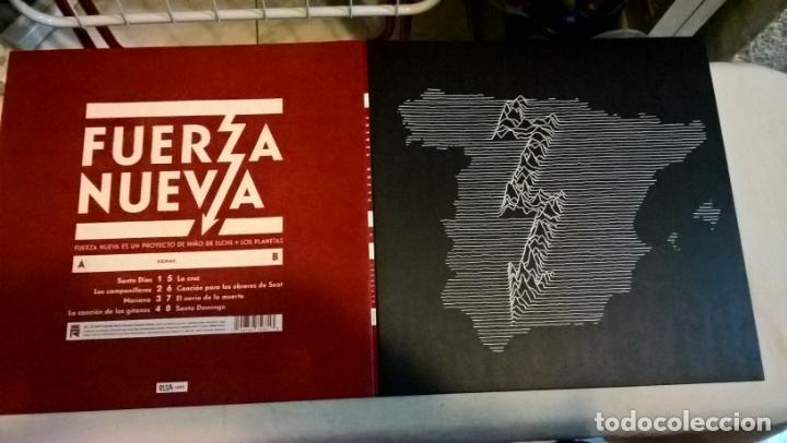 MUSICA LP: FUERZA NUEVA. NIÑO DE ELCHE+LOS PLANETAS. EDICION LIMITADA Y NUMERADA CON EL 259 DE 1492 (Música - Discos - LP Vinilo - Grupos Españoles de los 90 a la actualidad)