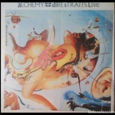 Discos de vinilo: DIRE STRAITS - ALCHEMY - DOBLE VINILO LP GASTO DE ENVÍO GRATUITO. Lote 190638232