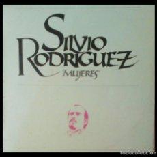 Disques de vinyle: SILVIO RODRIGUEZ -MUJERES- VINILO LP GASTO DE ENVÍO GRATUITO. Lote 190639641