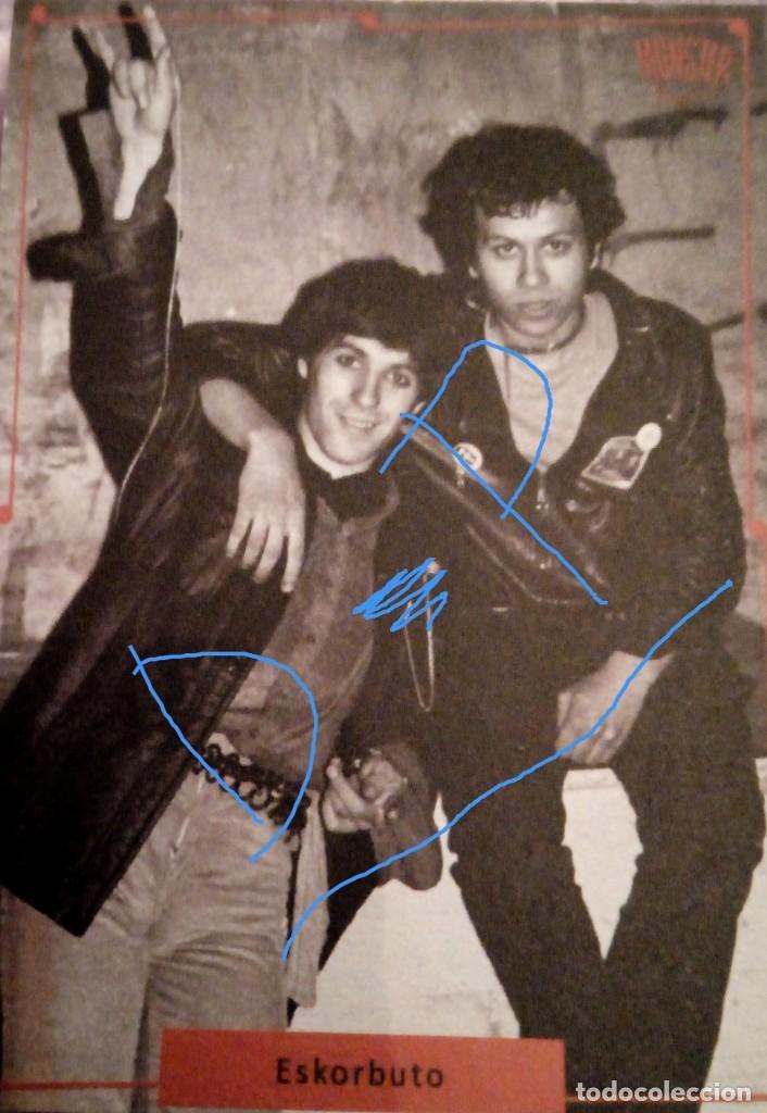 FLYER FLAYER ESKORBUTO IOSU JUALMA ROCK RADIKAL VASKO PUNK RIP CICATRIZ M.C.D. PARA COLECCIONISTAS!! (Música - Discos - Singles Vinilo - Punk - Hard Core)