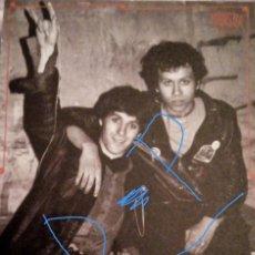 Discos de vinilo: FLYER FLAYER ESKORBUTO IOSU JUALMA ROCK RADIKAL VASKO PUNK PARA COLECCIONISTAS!!. Lote 227091380