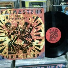 Discos de vinilo: LMV - THE BEATMASTERS WITH P-P ARNOLD. BURN IT UP. REF. LEFT27T. Lote 190694238