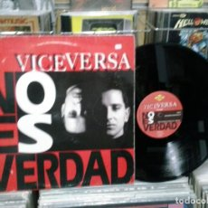 Discos de vinilo: LMV - VICEVERSA. NO ES VERDAD. MAX MUSIC 1992, REF. NM587MA - MAXI-SINGLE. Lote 190695193