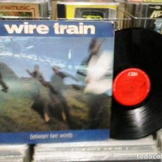 Discos de vinilo: LMV - WIRE TRAIN. BETWEEN TWO WORDS. CBS 1985, REF. S 26670 - LP. Lote 190695383