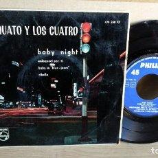 Discos de vinilo: EP-TORQUATO Y LOS 4-BABY NIGHT-1961-SPAIN-. Lote 190698771