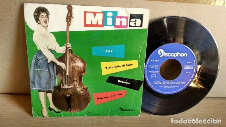 EP-MINA-TINTARELLA DI LUNA-1960-SPAIN- (Música - Discos de Vinilo - EPs - Pop - Rock Extranjero de los 50 y 60)