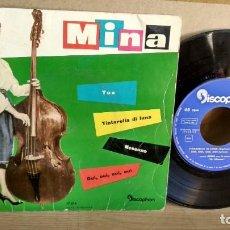 Discos de vinilo: EP-MINA-TINTARELLA DI LUNA-1960-SPAIN-. Lote 190701031