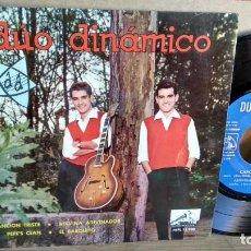Discos de vinilo: EP-DUO DINAMICO-CANCION TRISTE-1963-SPAIN-. Lote 190701356