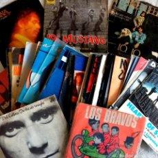 Discos de vinilo: LOTE 50 SINGLES POP-ROCK AÑOS 60/70/80. Lote 190721223