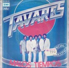 Discos de vinilo: TAVARES - MALOS TIEMPOS - DEL LP SUPERCHARGED - SG SPAIN. Lote 190725487