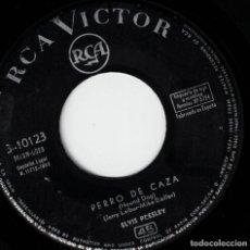 Discos de vinilo: ELVIS PRESLEY - PERRO DE CAZA - NO SEAS CRUEL - SG SPAIN 1962 (SÓLO EL VINILO). Lote 190729601