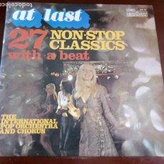 Discos de vinilo: THE INTERNATIONAL POP ORCHESTRA - AT LAST 27 NON STOP - LP - 1974. Lote 190738722