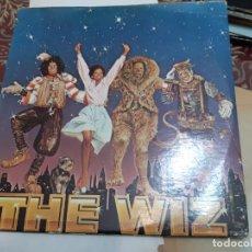 Discos de vinilo: 2 LP MICHAEL JACKSON THE WIZ ( EL MAGO ) DIANA ROSS + LIBRETO+POSTER 1978 EDITION. Lote 190749507